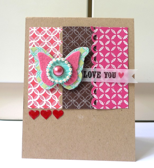Jessi Lawson Artist I Love The Bright Colors: SSD64 Blog Hop – Love You!