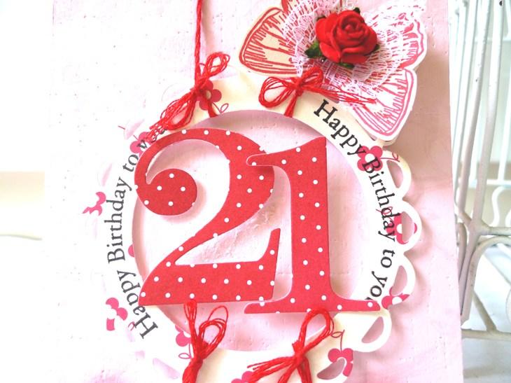 Ssd84 Blog Hop Happy Birthday 21st Mypapercrafting