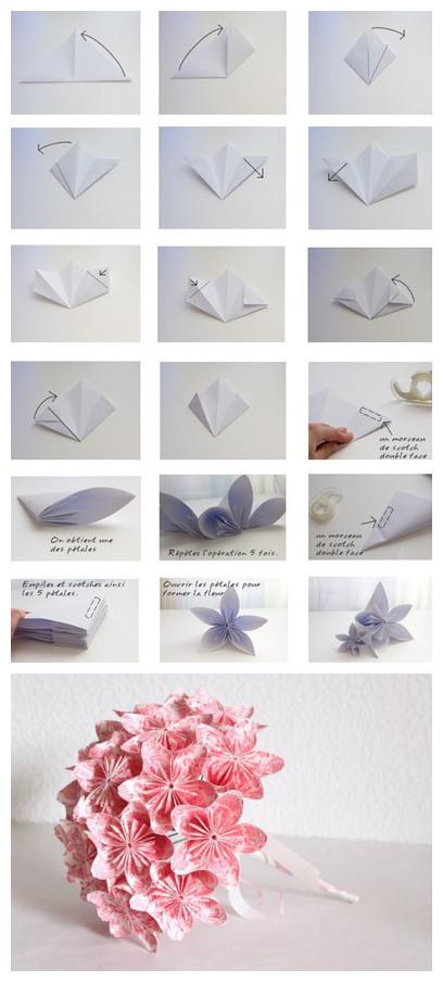 Как сделать простые букеты своими руками