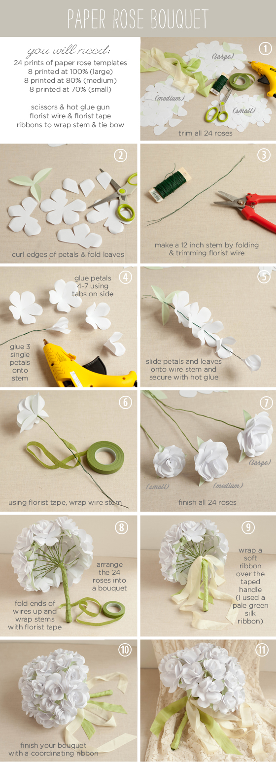 Inspirational Monday – do it yourself (diy) – Flower Rose Bouquet ...