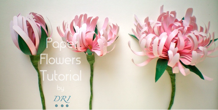 Inspirational monday do it yourself diy flower series paper inspirational monday do it yourself diy flower series paper flowers tutorials mightylinksfo