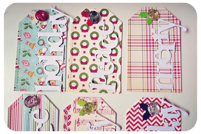 Christmas Tag Kits