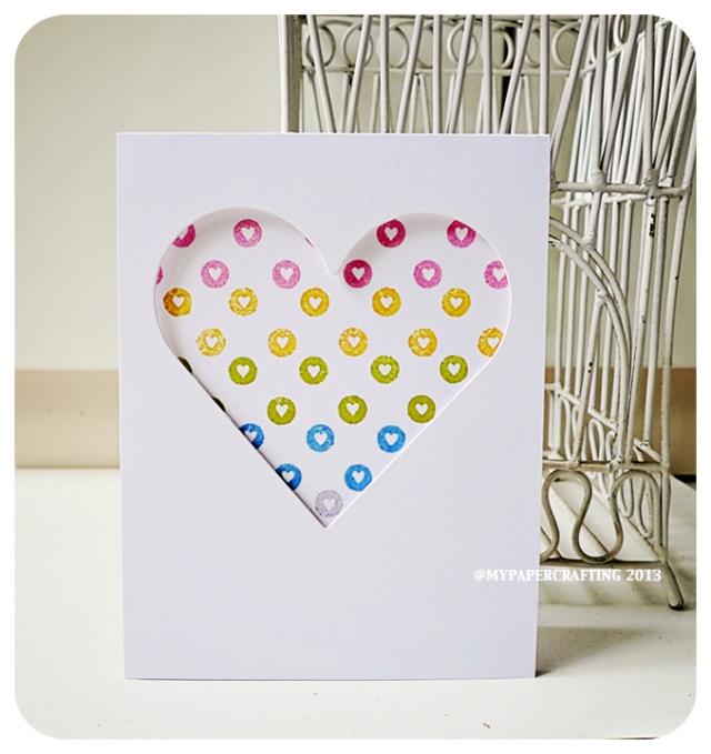 Happy Valentine Day - Circle Hearts