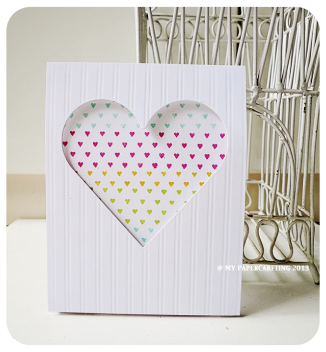 Tiny Hearts Valentine Day Card