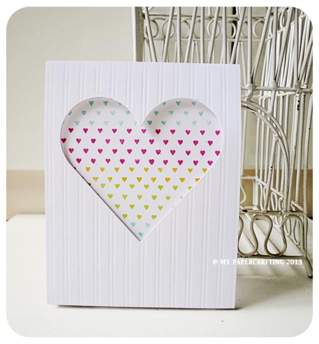 Tiny Hearts Valentine Day Card
