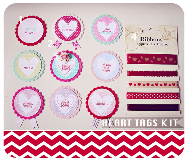 Heart Tag Kit