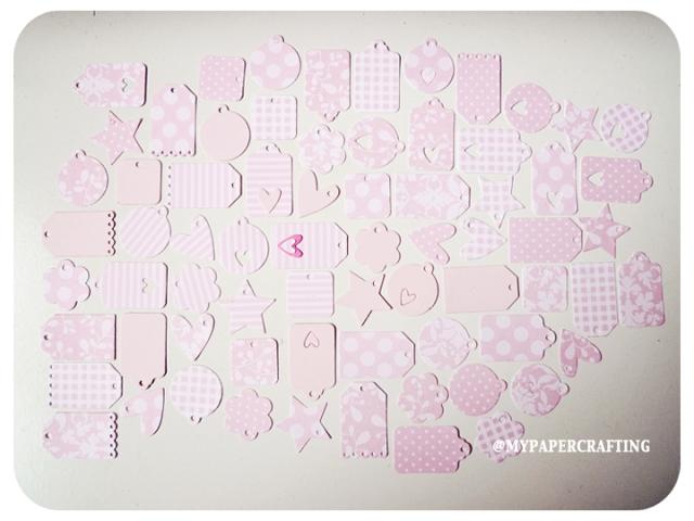 Tiny Tags Pink Series