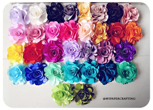 Satin Roses Flowers