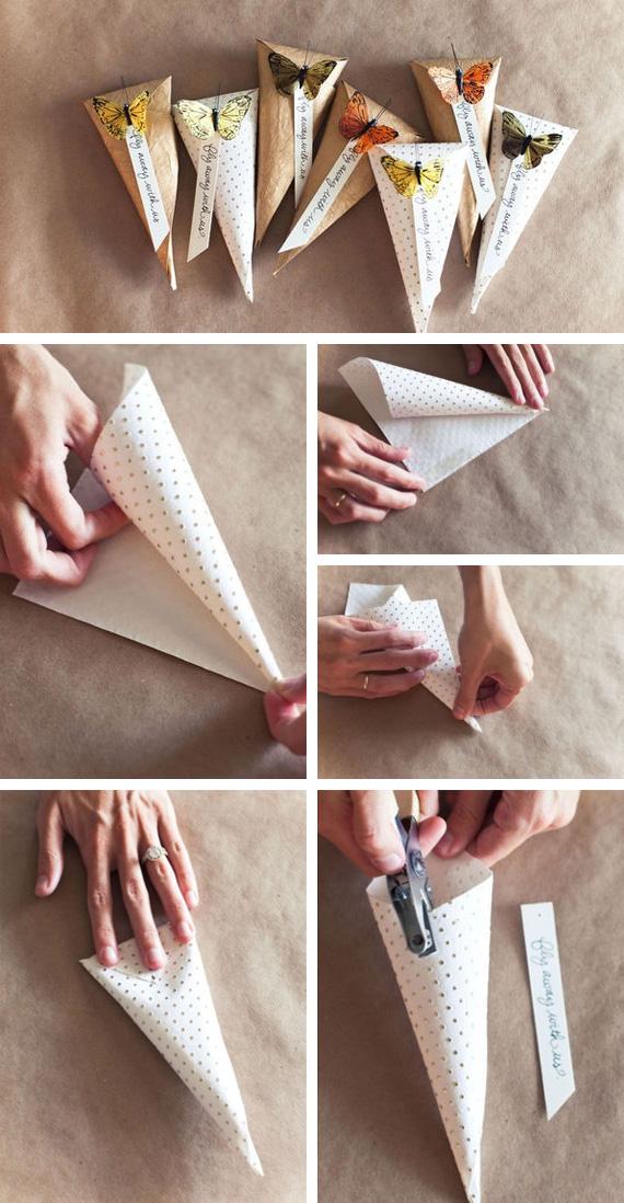 Cone paper bags