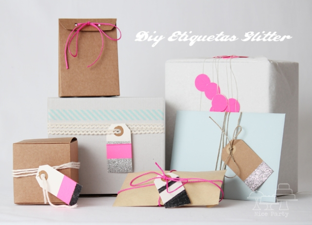 pretty packaging & Tags