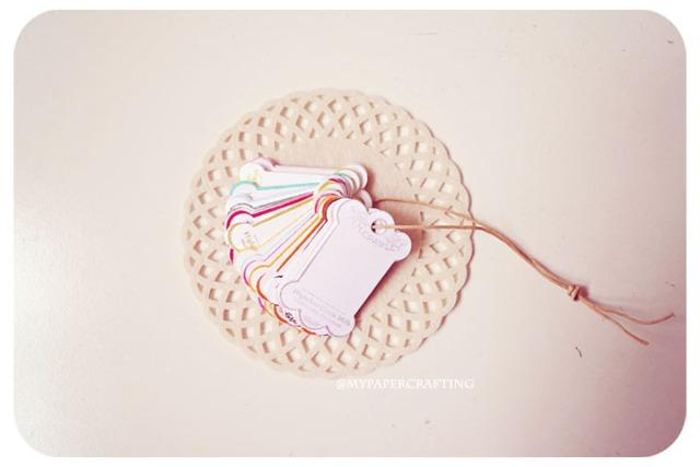 Scallop thread card