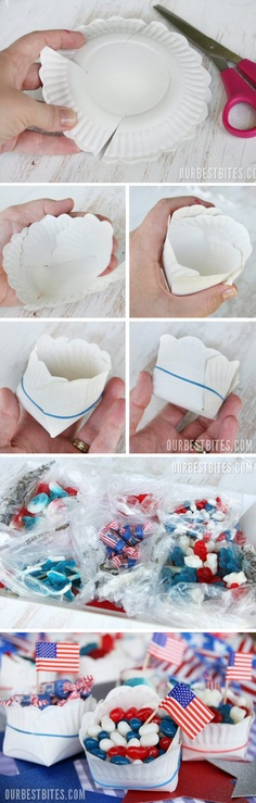 DIY Paper Snack Bag
