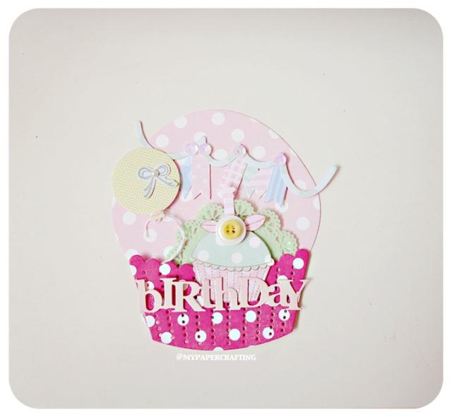 Cupcake card/ album