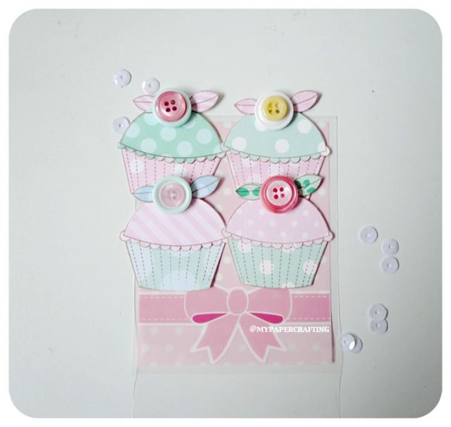 Cupcake Embellishment
