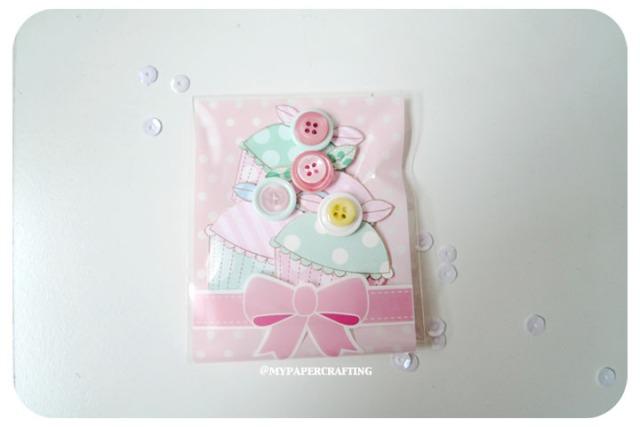 Handmade Cupcake Embellishment