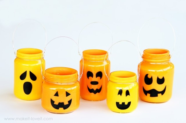 DIY Halloween Jar