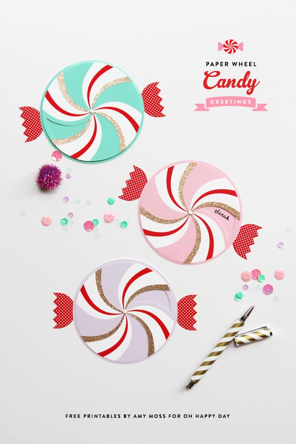 Candy Paper Pinwheel