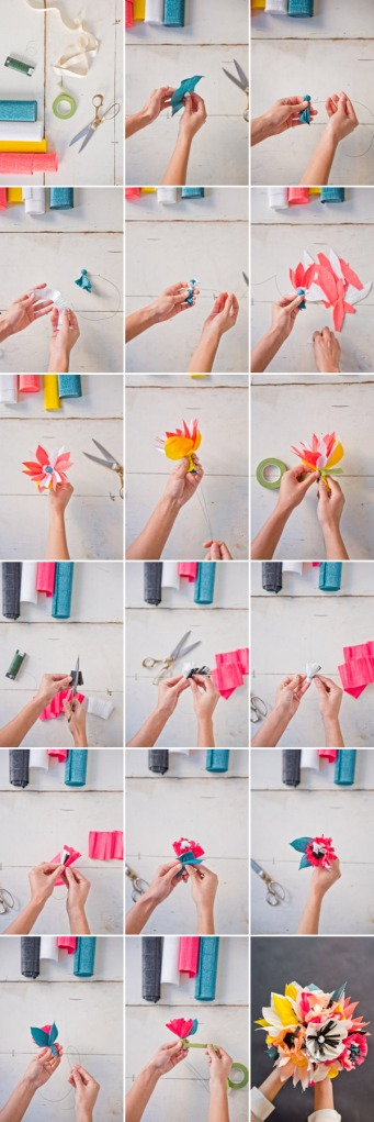 DIY-Paper-Flower Bouquet