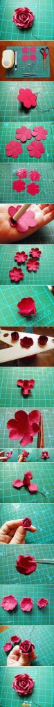 DIY Punch Paper Flower
