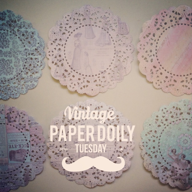 Vintage Parisian Lace Paper Doily