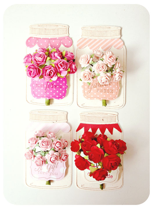 Valentine jar Tags