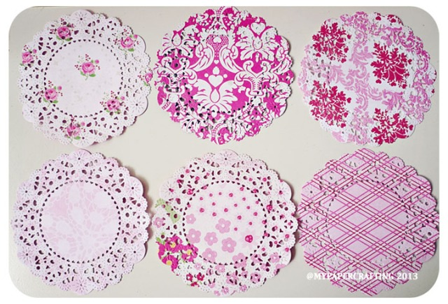 Love Story Parisian Lace Paper Pattern Doily