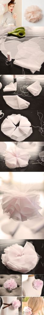 DIY Bridal flower