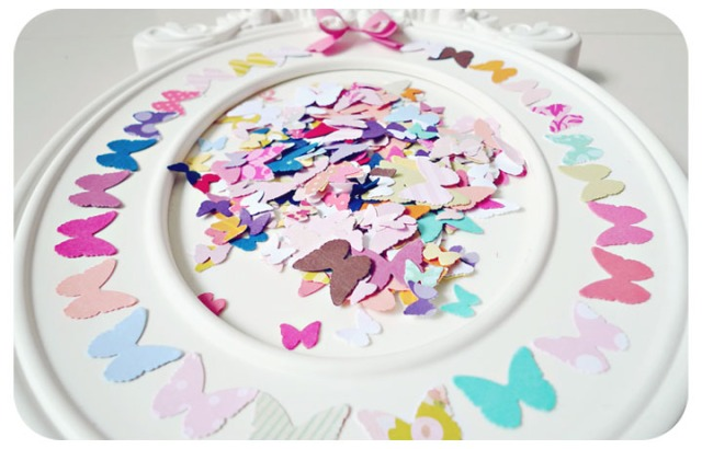 Mini Butterflies die cut